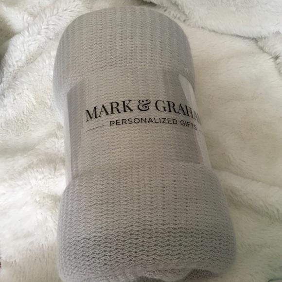 Mark & Graham Other - Mark & Graham Williams-Sonoma Gray Throw Blanket